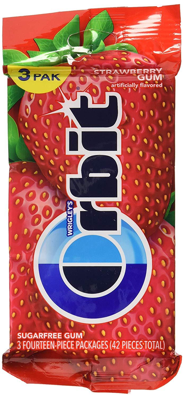 Strawberry Twist Sugar Free Gum