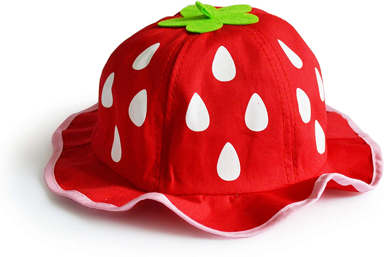 UltraKey Bucket Hat, Fashion Baby Kids Boys Girls Strawberry Cap Toddler Spring Bucket Hat Sun Cap