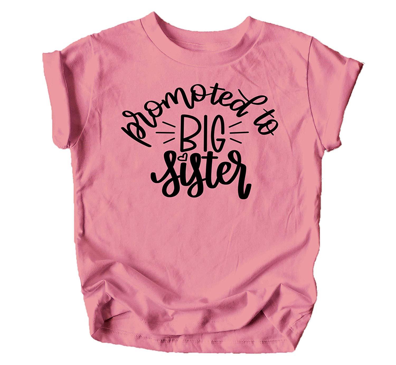 Big Sister Colorful Announcement T-Shirt