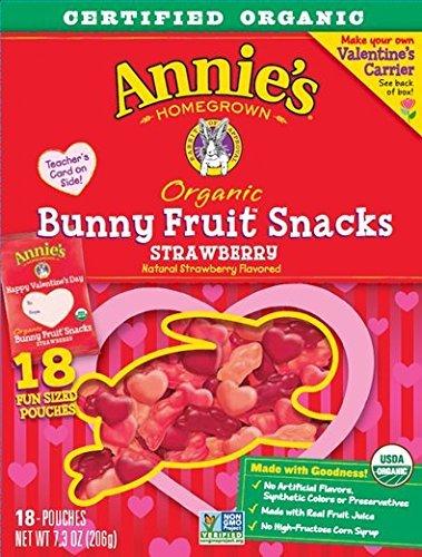 Organic Strawberry Bunny Fruit Snacks