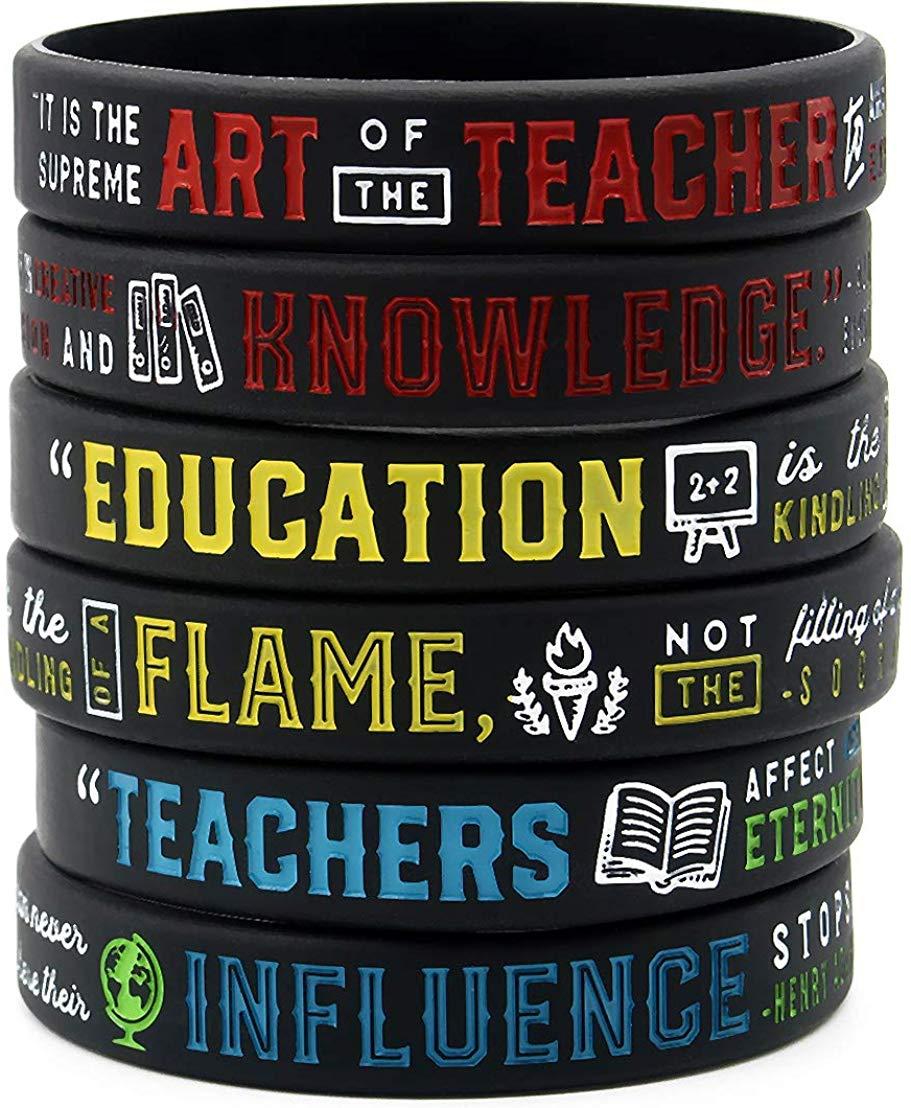 Teachers' Inspirational Bracelets