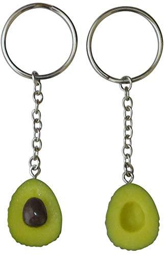 Cute Avocado Keychain Set