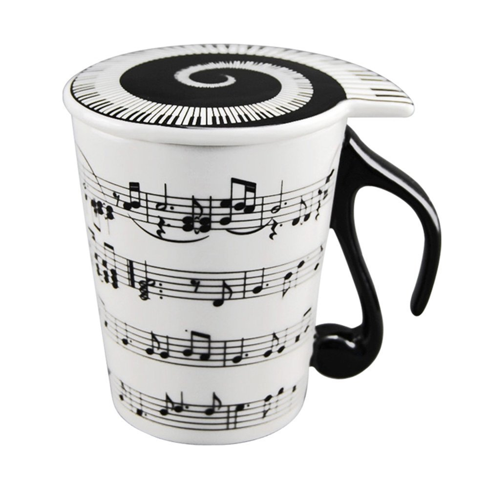 Creative Ceramic Musician Coffee Mug Tea Cup