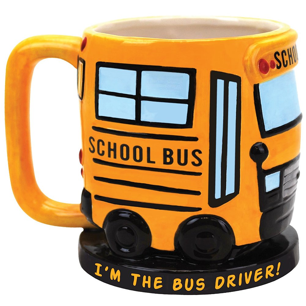 Bus Themed Mug - Bus driver gift ideas