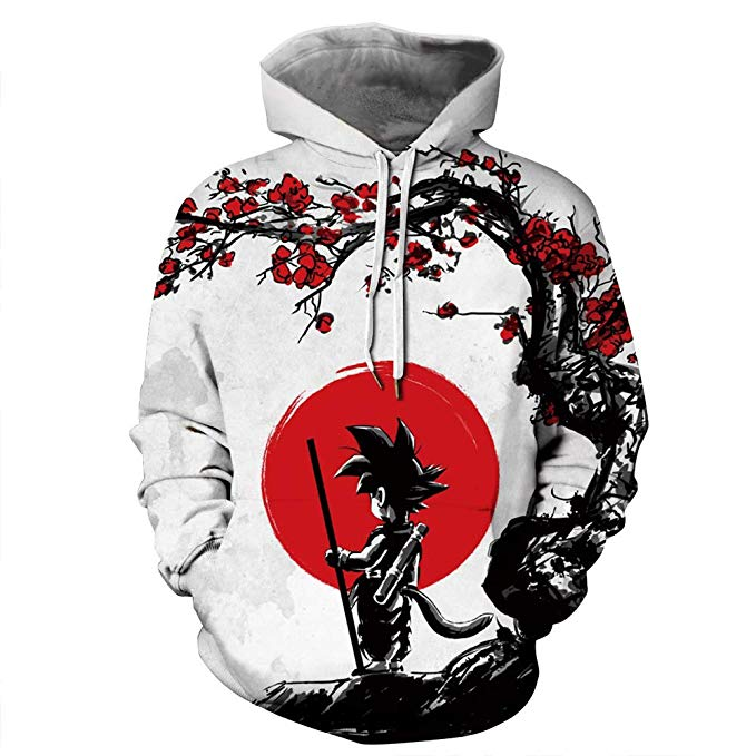 13th wedding anniversary gift ideas - Printed Hoodie for your love