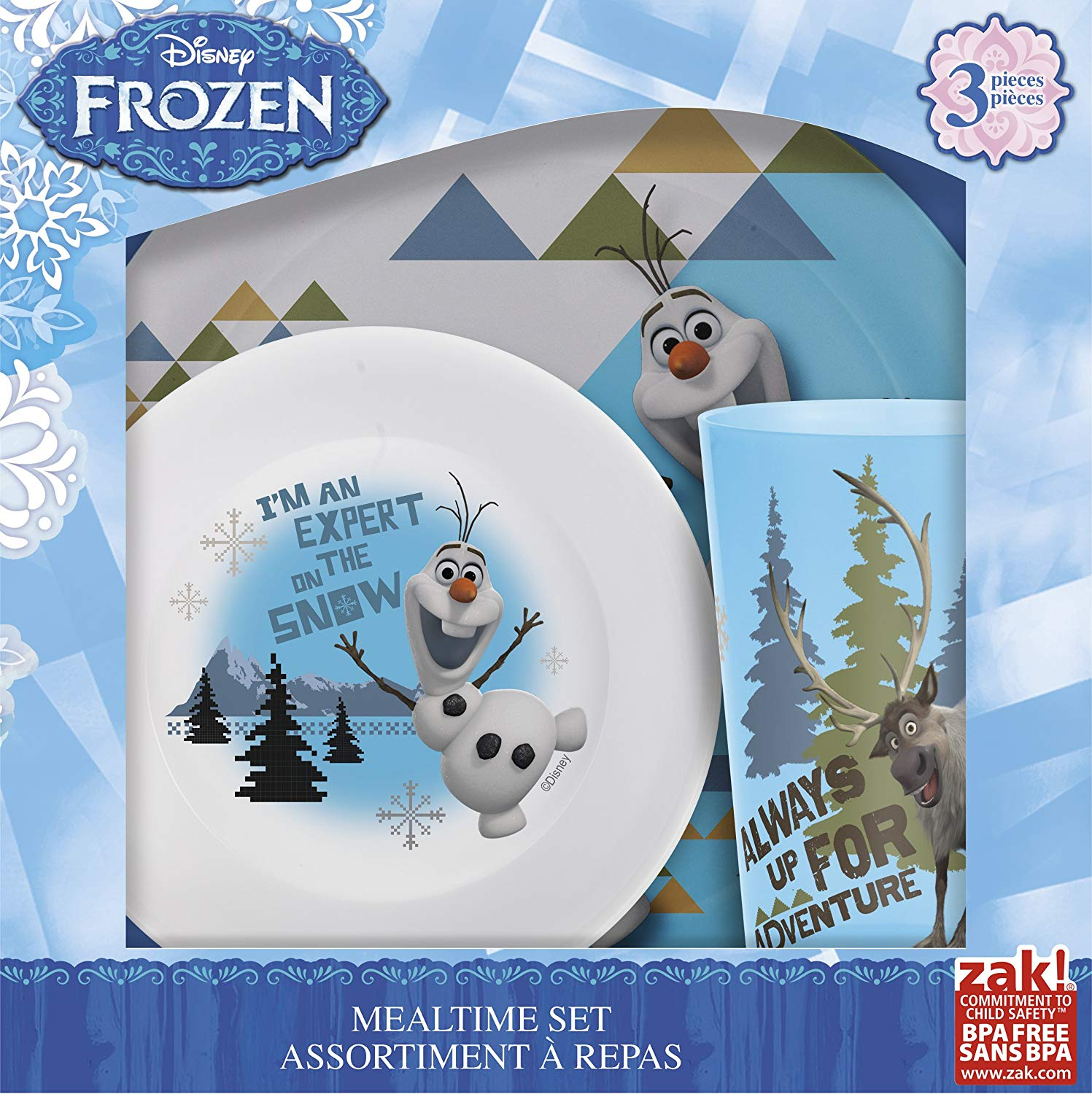 Designs Mealtime Set with Plate, Bowl and Tumble