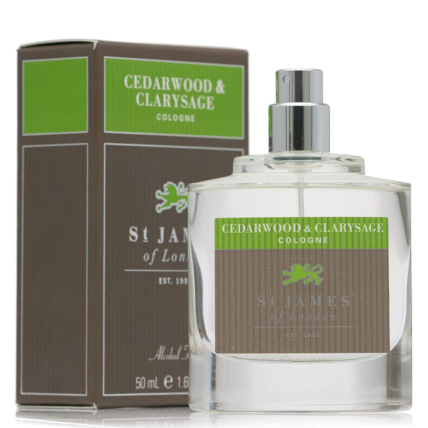 Cedar Wood and Clarysage Cologne