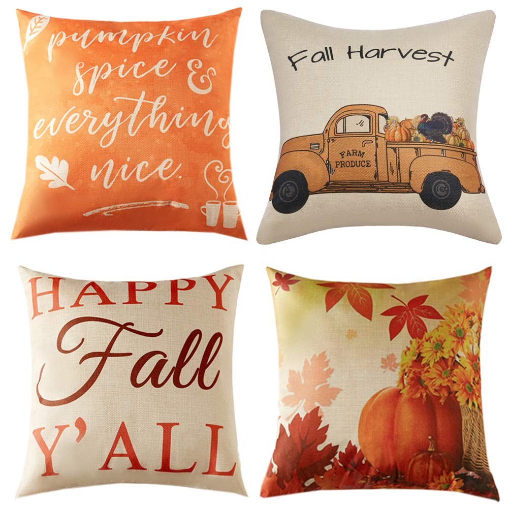 hanksgiving Pillow Covers
