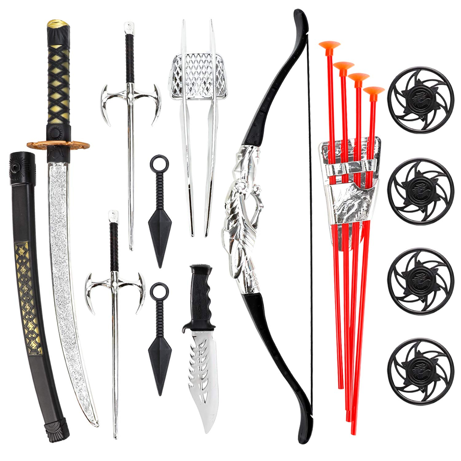 Ninja Warrior Bow and Arrow Archery Set - Ninja Gift Ideas