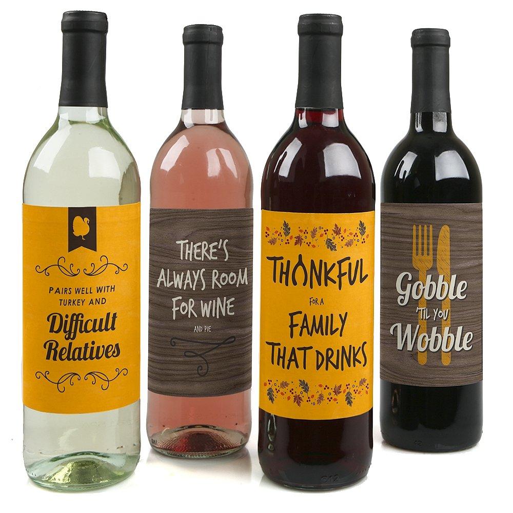 Wine Bottle Label Stickers
