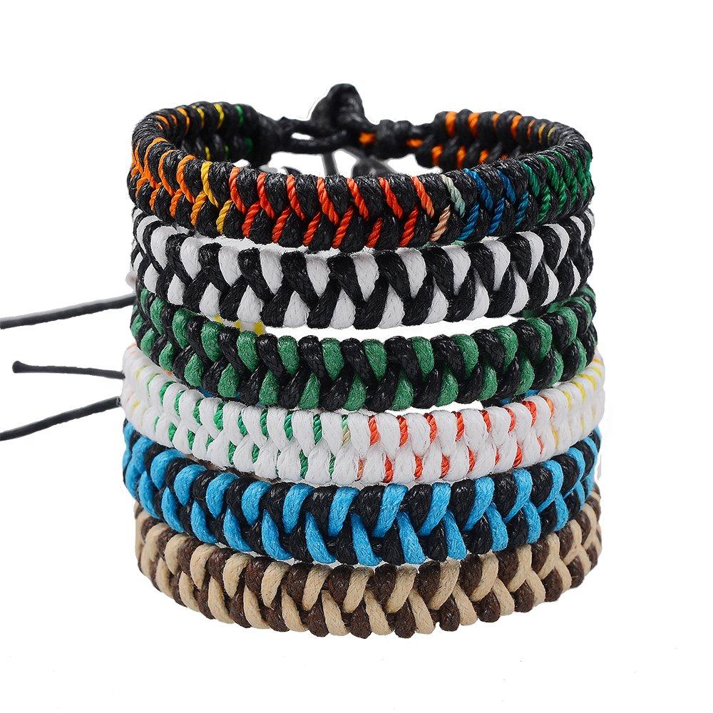 Braided Woven Friendship Bracelets For Boys Girls