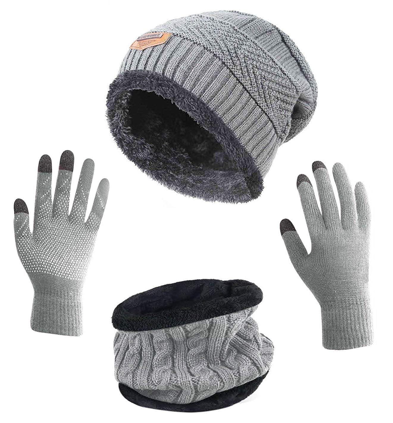 13th wedding anniversary gift ideas - A winter kit including gloves, mitten