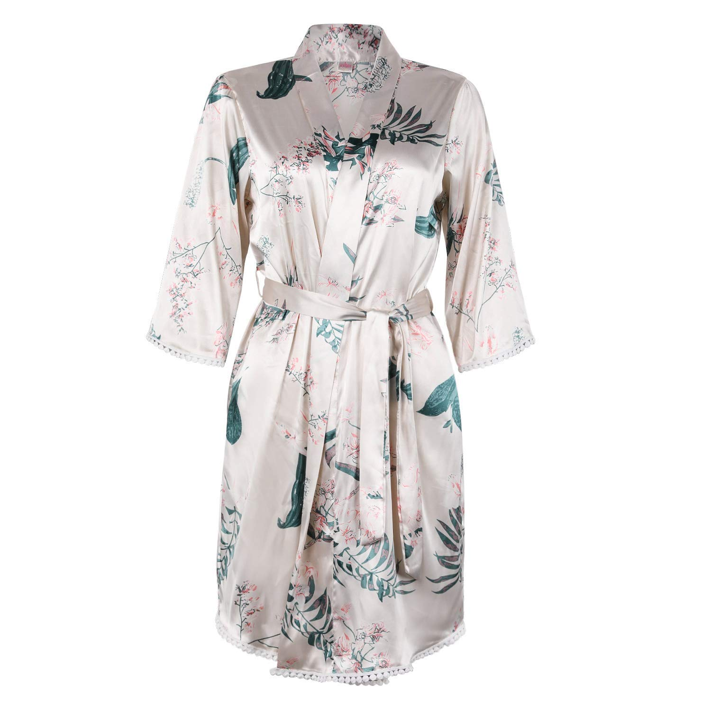 13th wedding anniversary gift ideas - A beautiful silk robe for wife