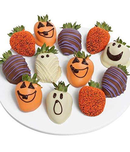 Halloween Chocolate Covered Strawberries - Strawberry gift ideas