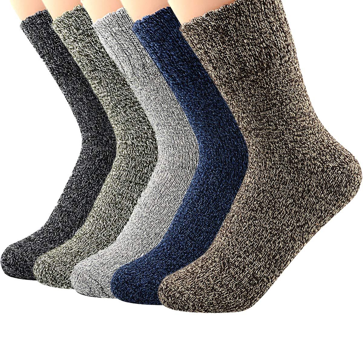 Zando Mens Warm Thick Socks