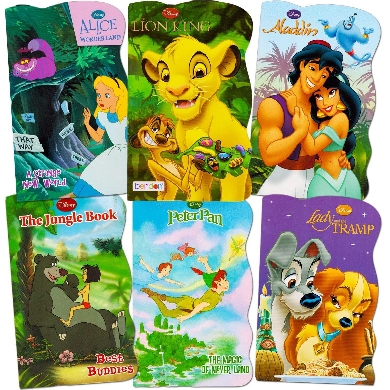 Disney Baby Toddler Beginnings Board Books Super Set